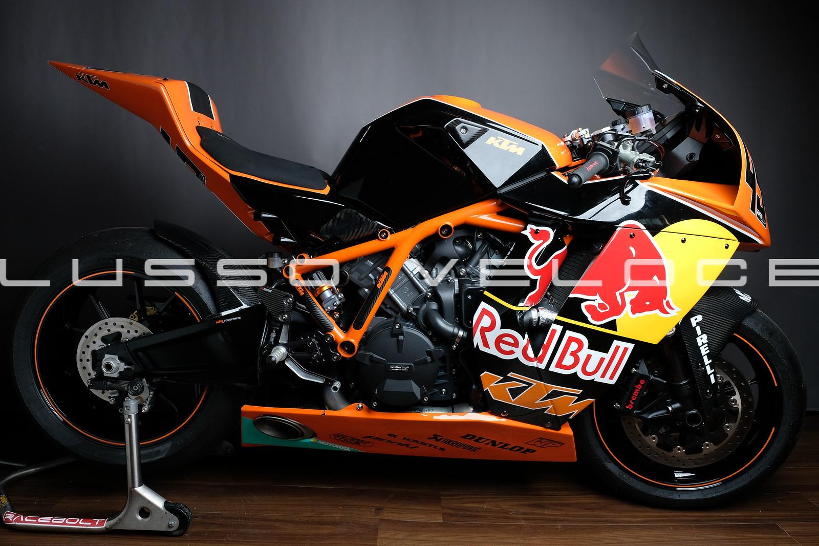 KTM RC8R Track bike