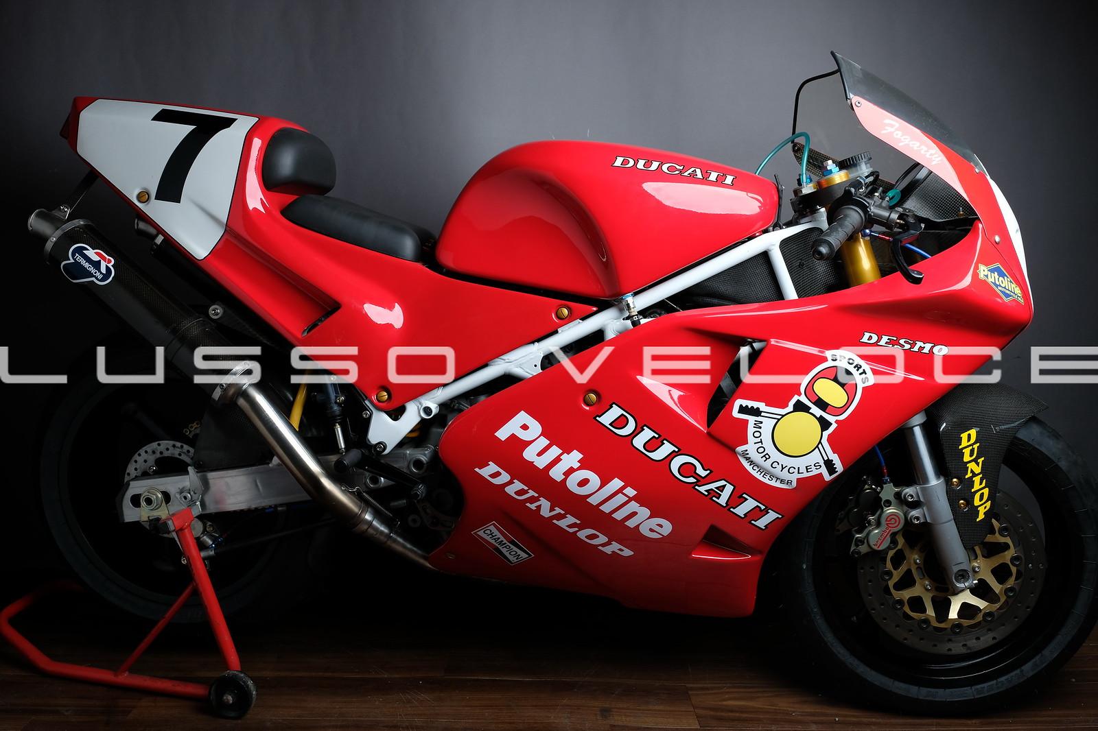 Ducati 888 851 Corse Ex Foggy and Graves