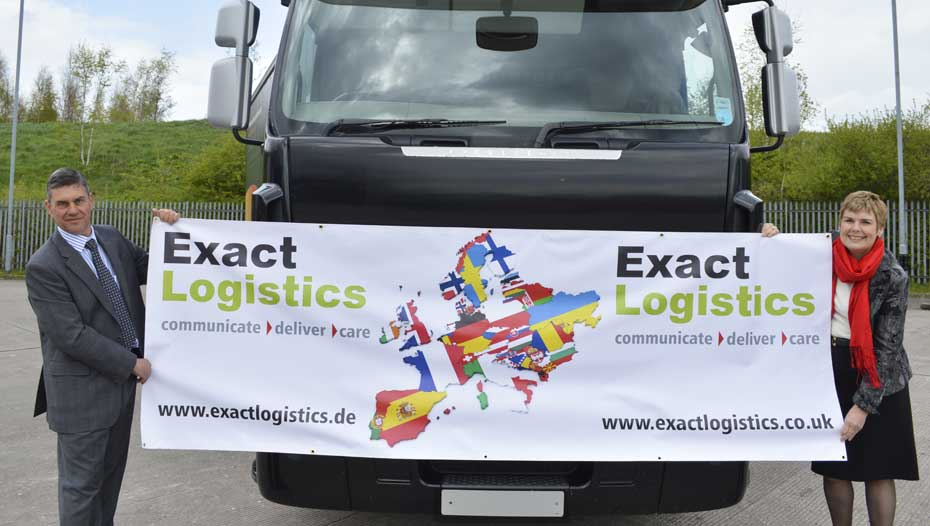 Exact Logistics directors, Adam and Karen Shuter