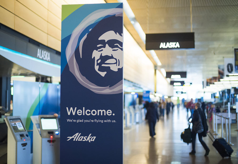 What makes Alaska Airlines an eco-friendly airliner?