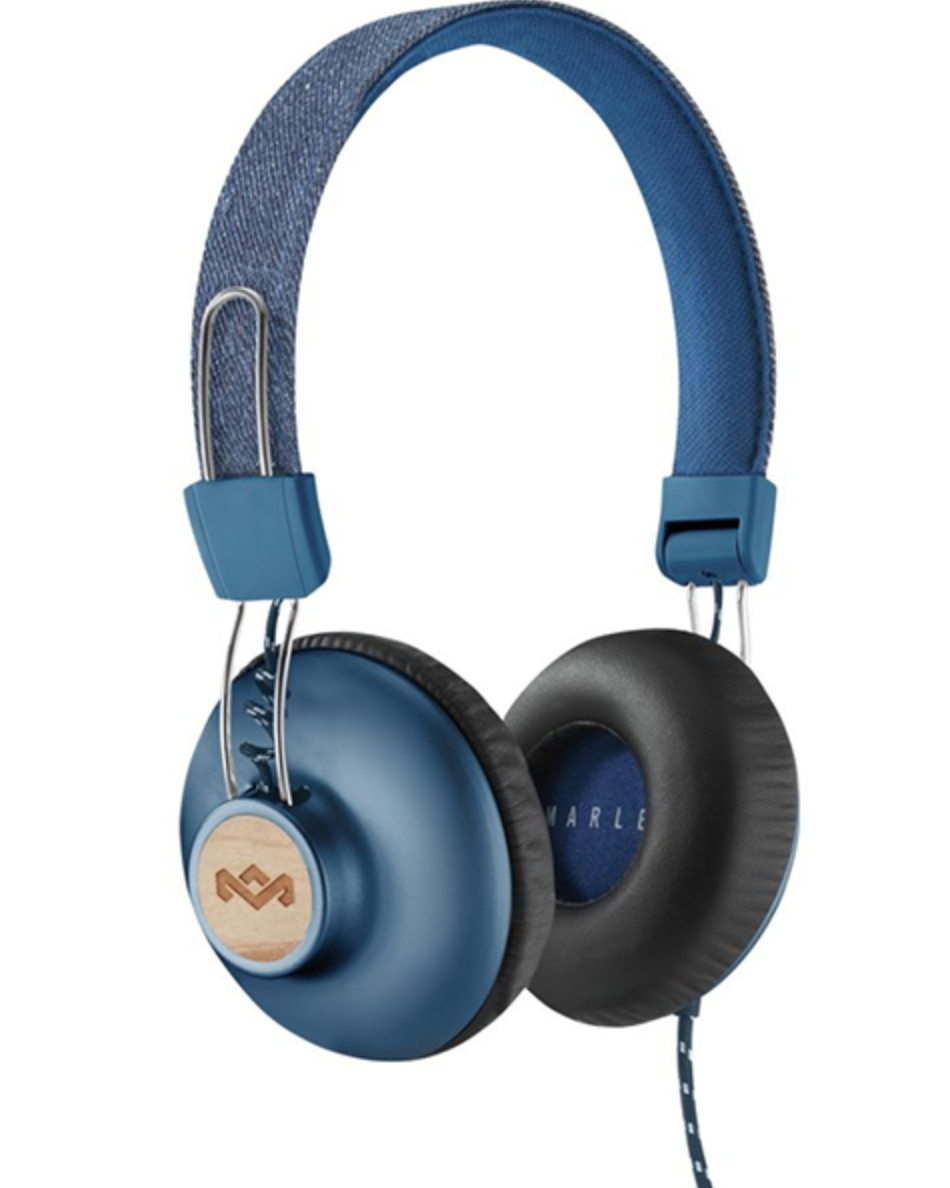 Eco-friendly bluetooth headphones by House of Marley
