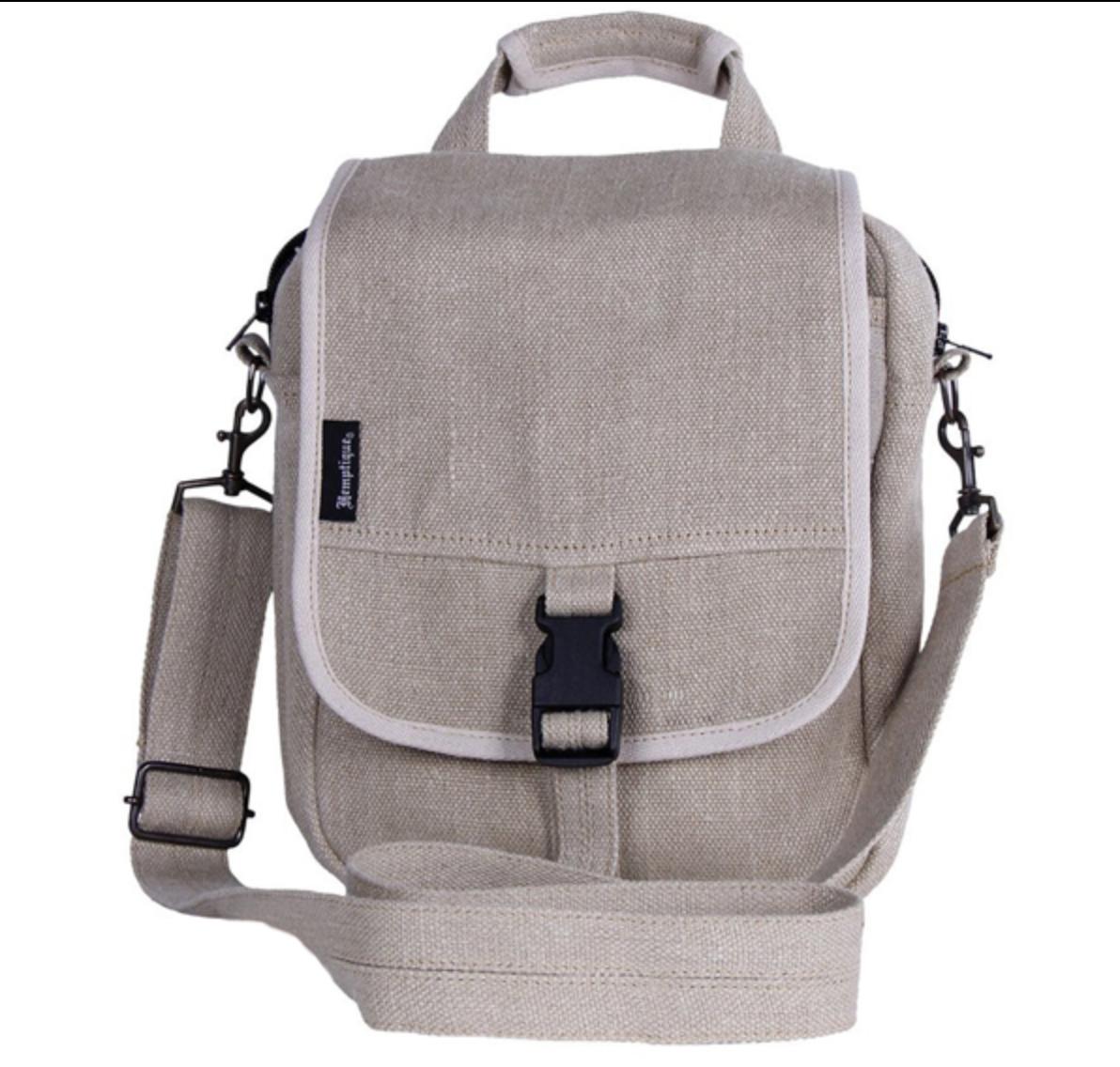 Hemptique Hemp Tablet Bag eco-friendly