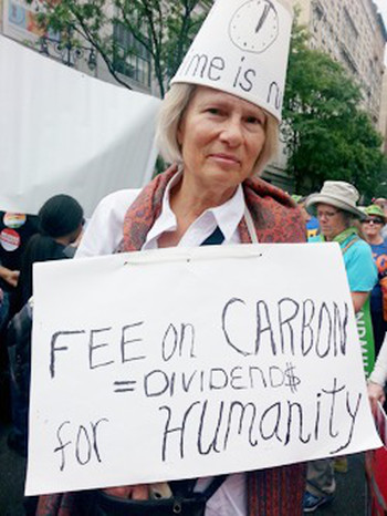 Climate March-Eileen V. Quigley