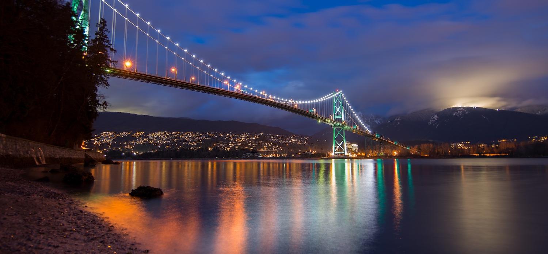 Vancouver BC bridge