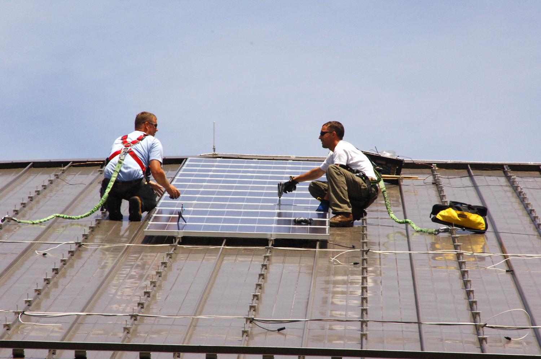 Fort Dix solar panels