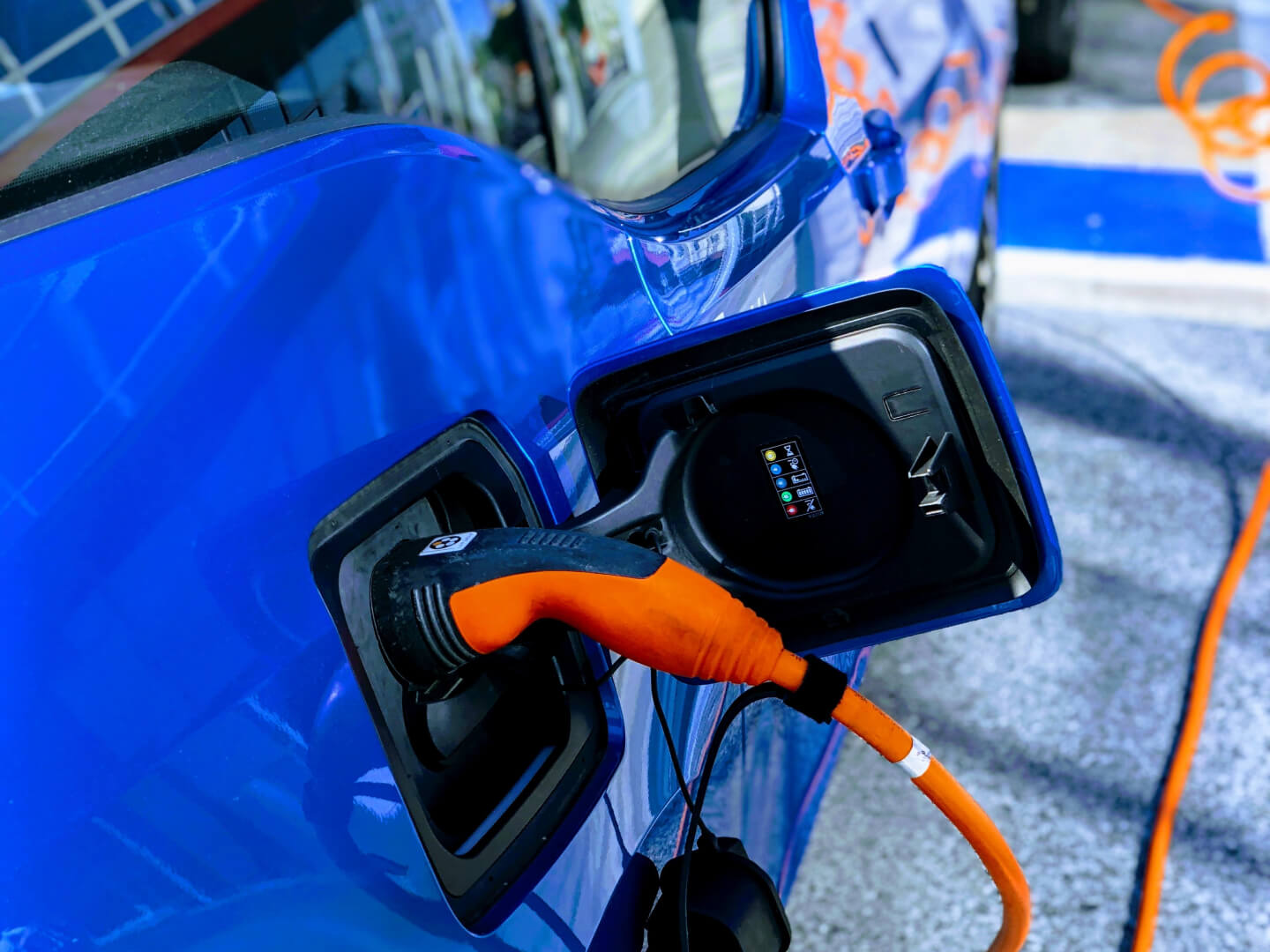 Electric BMW's Charging Up