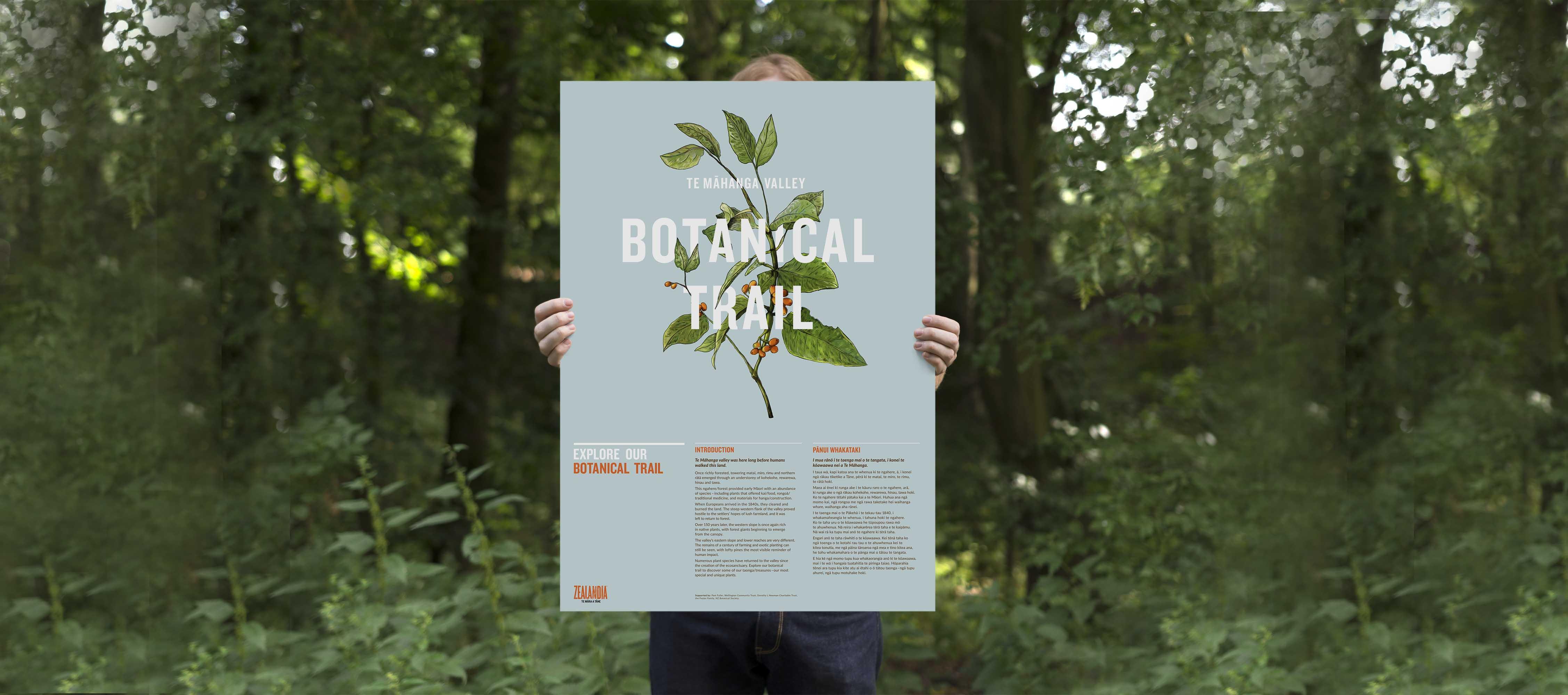 Zealandia Botanical Trail