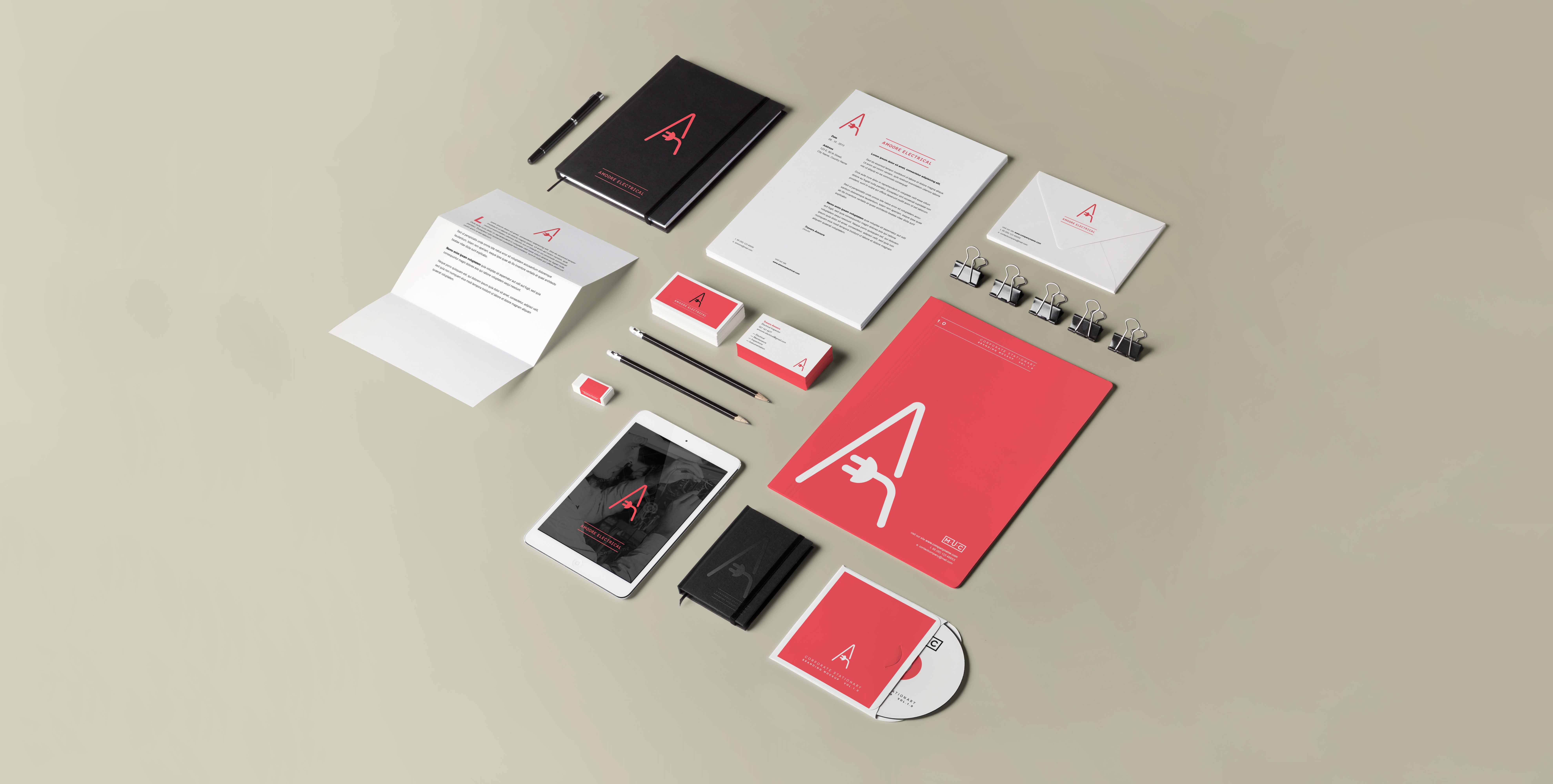 Amoore Electrical Branding