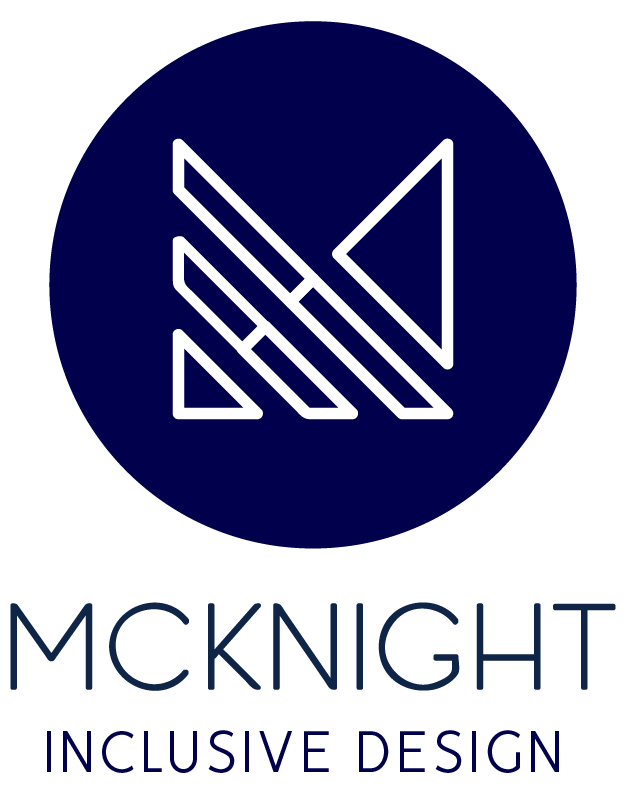 McKnight Inclusive Design Logo