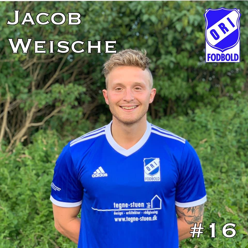 Byd Jacob Weische velkommen tilbage i trøjen