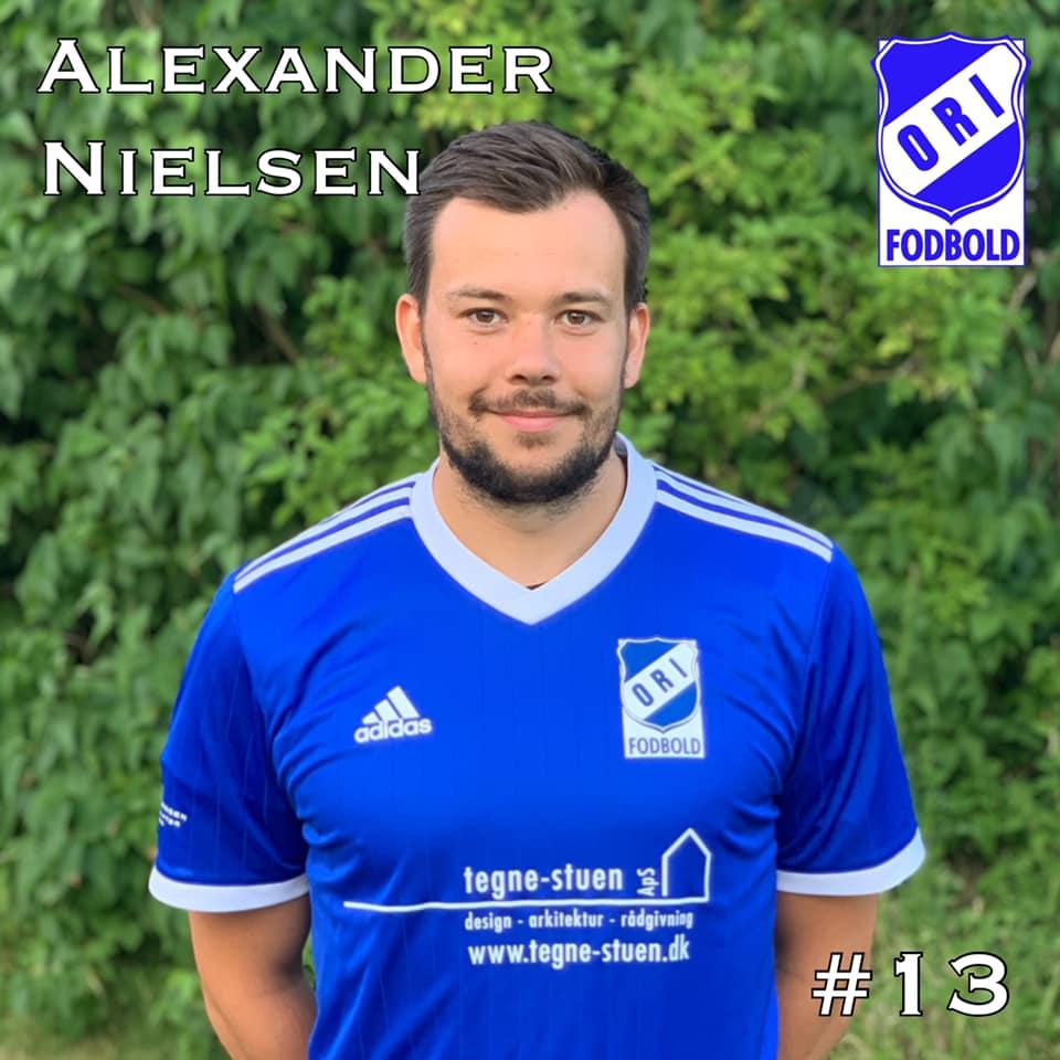 Alexander Nielsen er tilbage i ORI