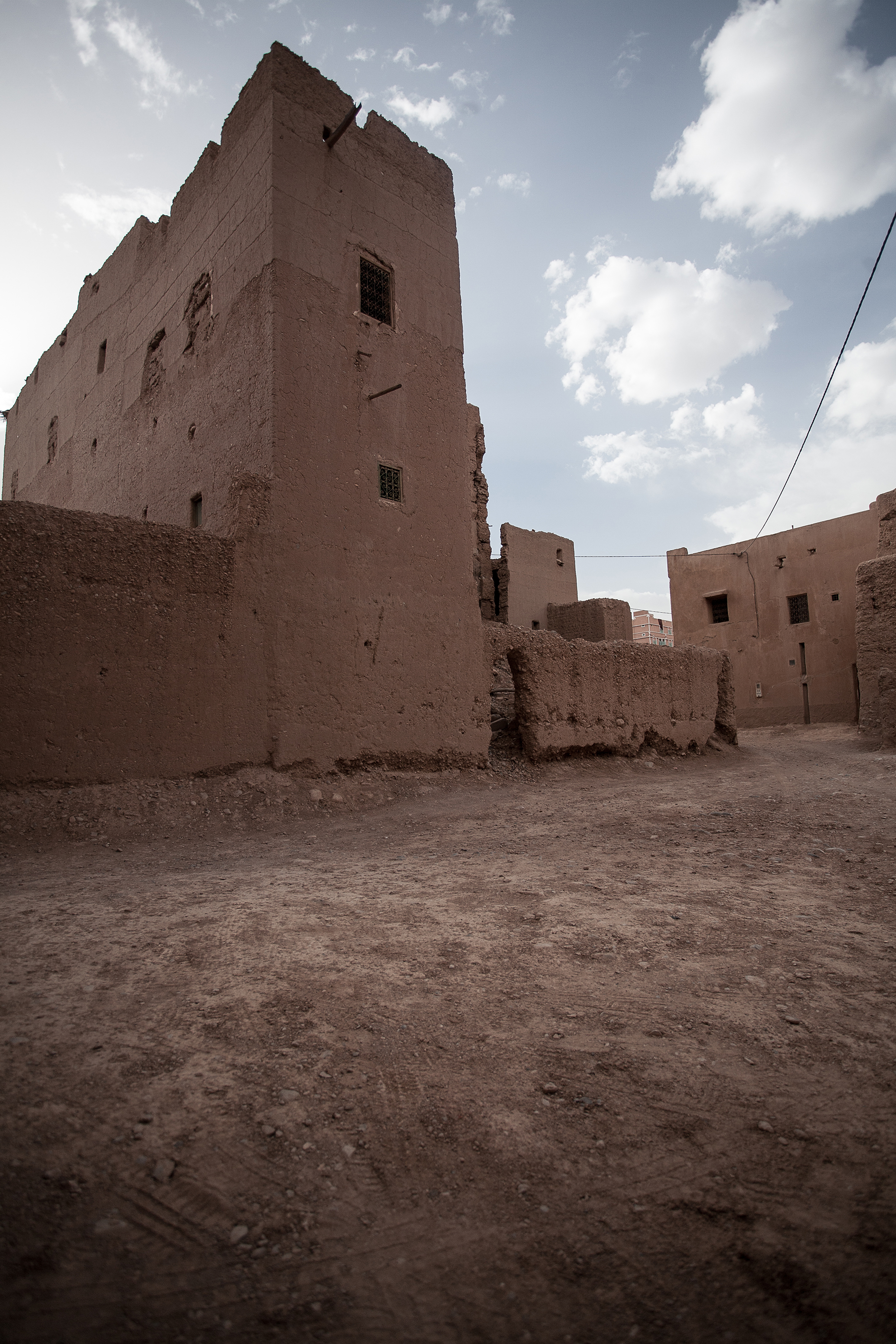 reference of rural Moroccan architecture. 2x1
