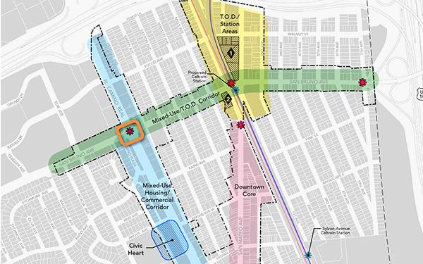 San Bruno Transit Corridors Plan