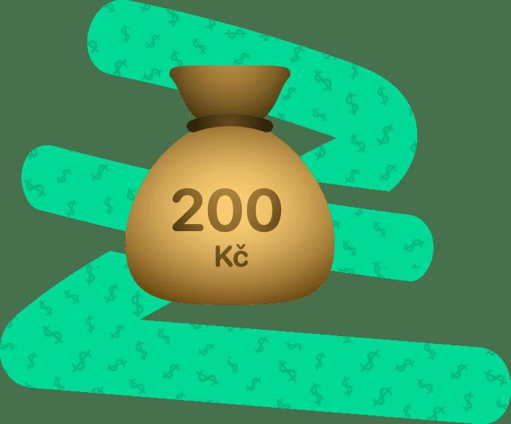 200 Kč za doporučení kamaráda
