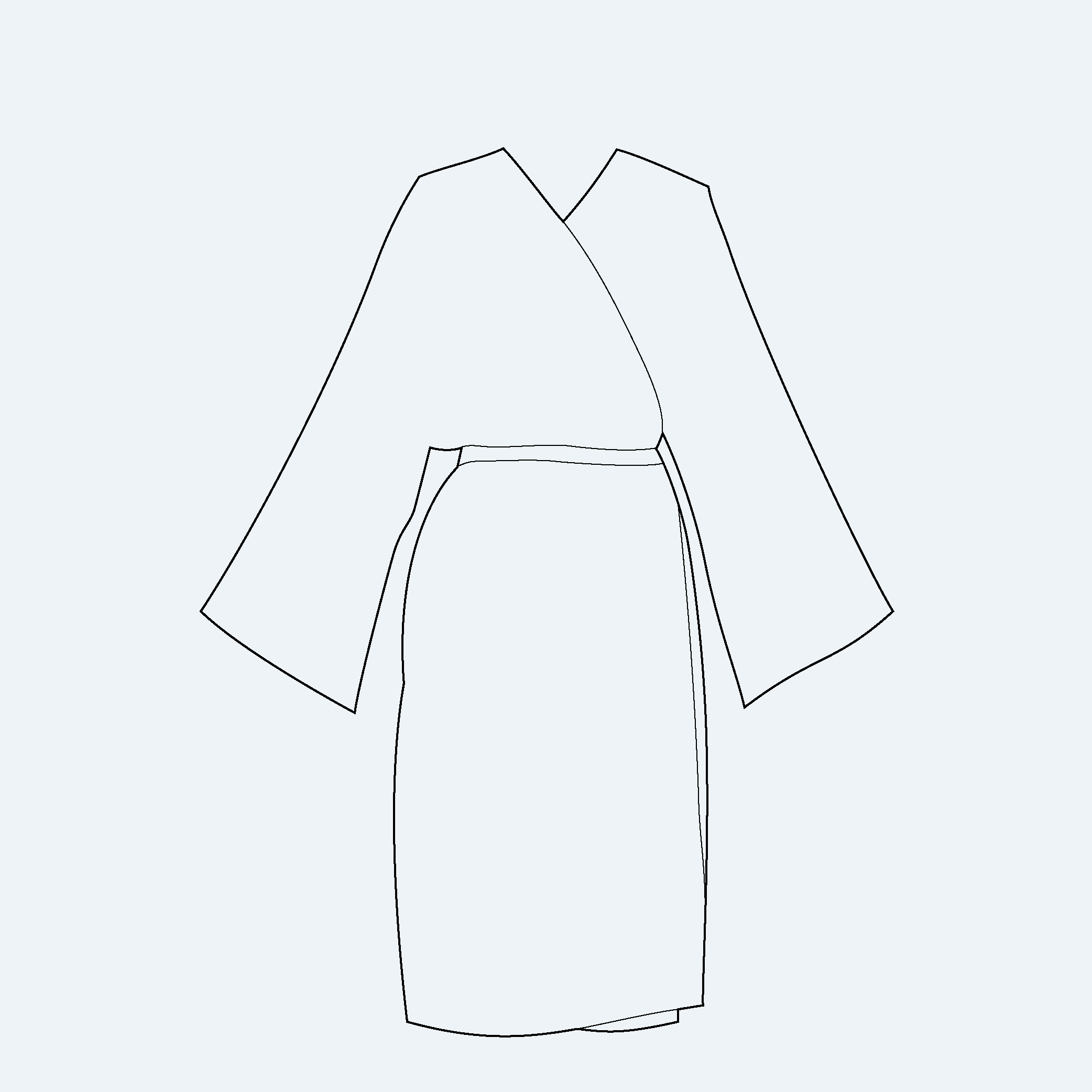 photo peignoir coiffeur kimono