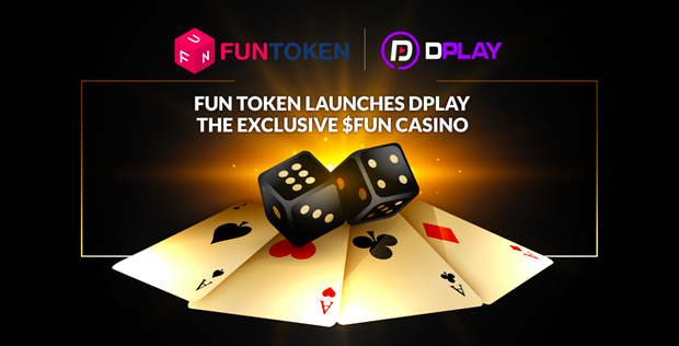 FUNToken launching new dPlay crypto casino today.