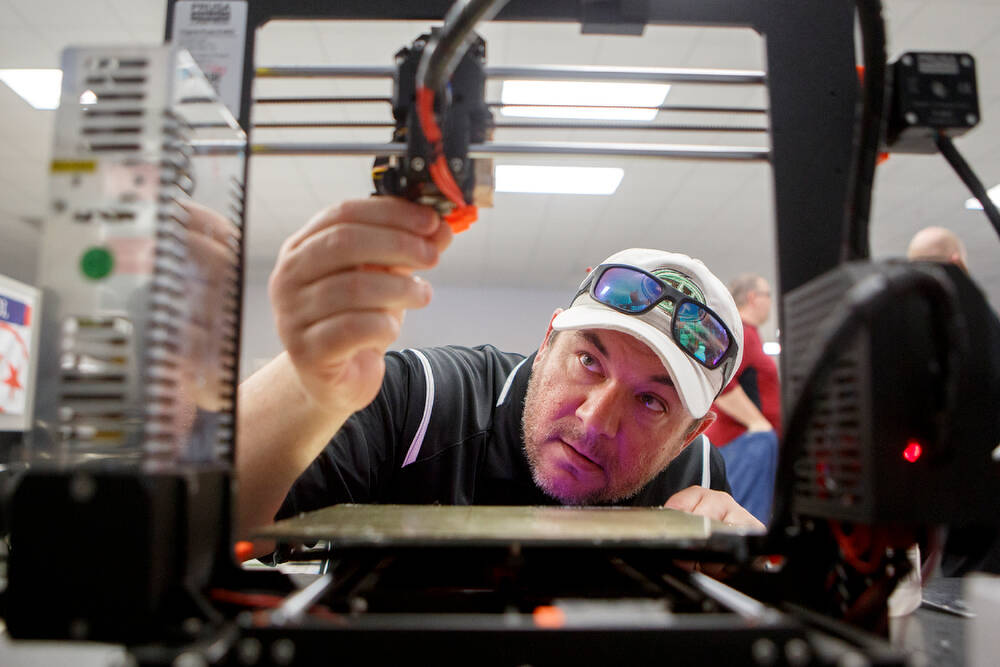 How Hamilton County Schools is using 3-D printers to create needed medical supplies amid the coronavirus pandemic