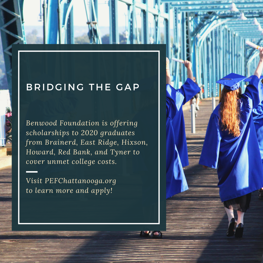 "Benwood Foundation Announces ""Bridging the Gap"" Scholarships To Help Local Students Graduate From College"