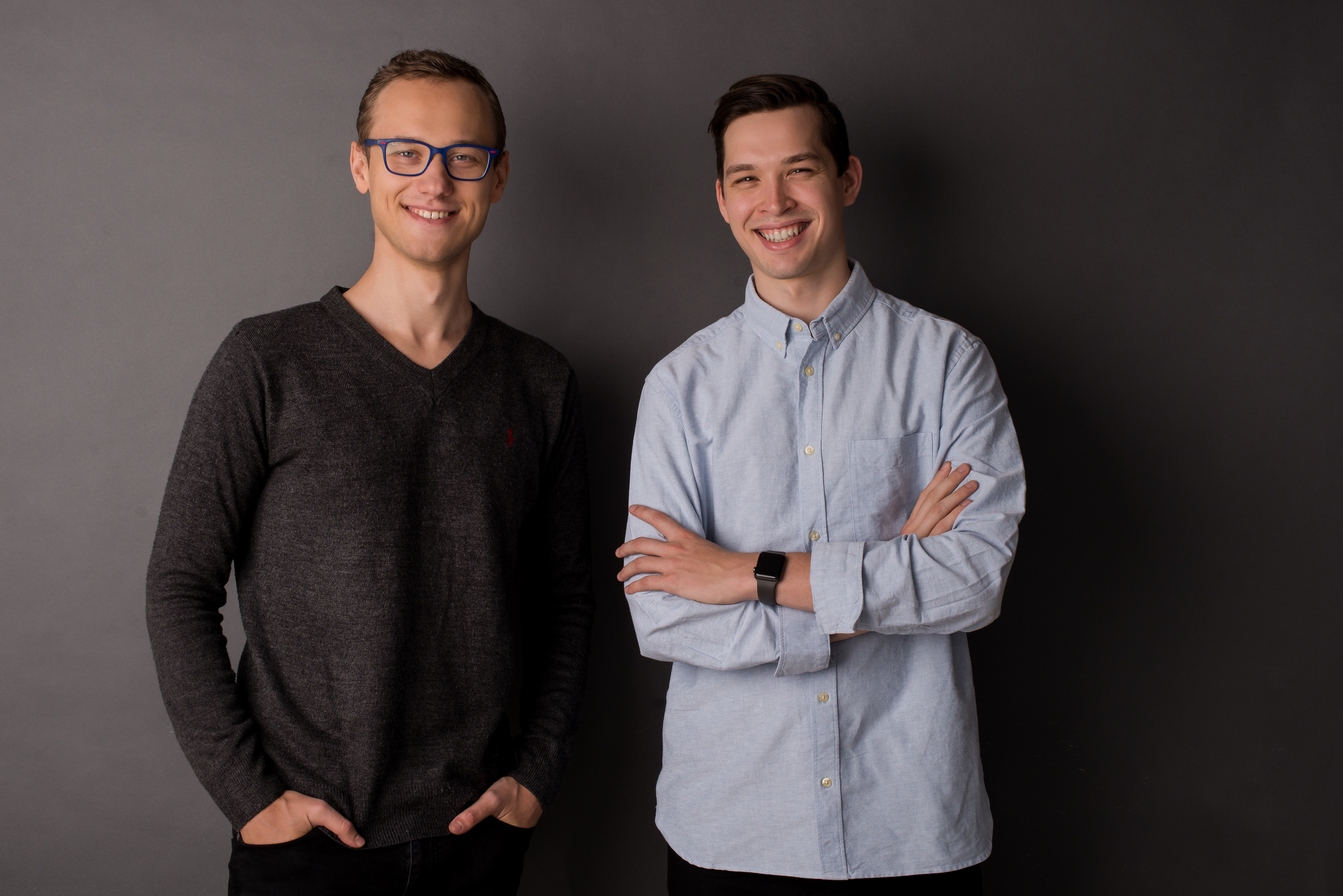 Image of two co-founders, Andrei and Victor