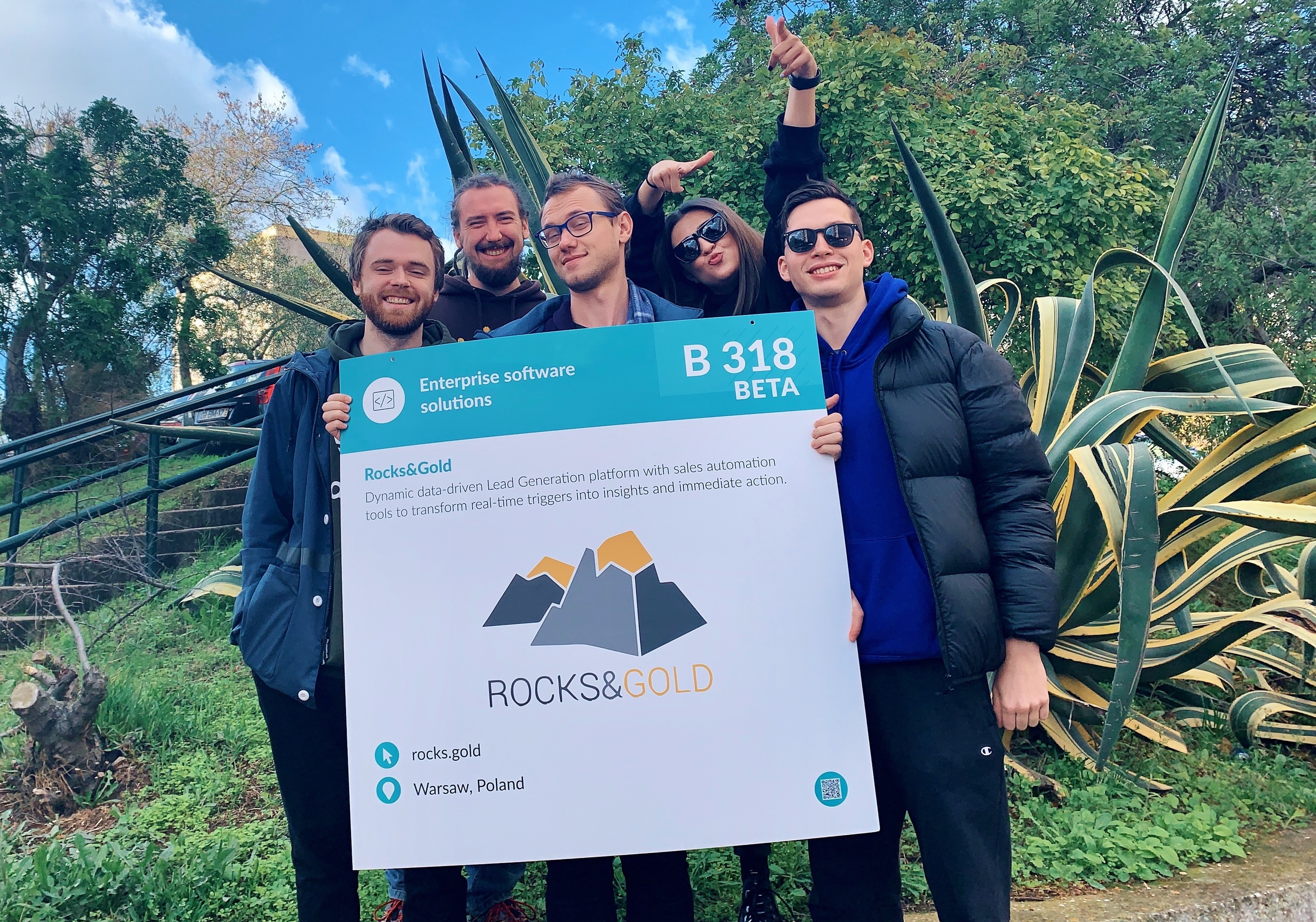 Team image from WebSummit 2019