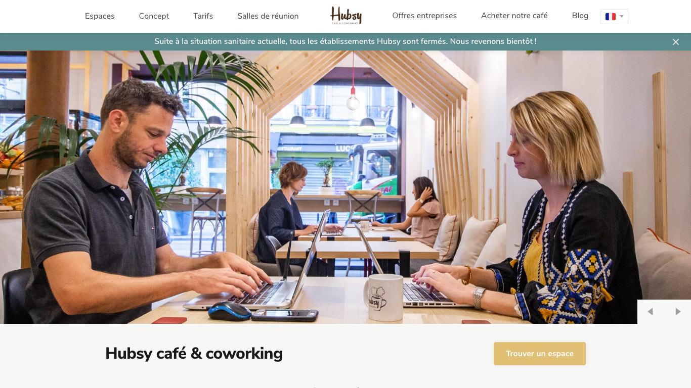 HUBSY café & coworking | Arts et Métiers