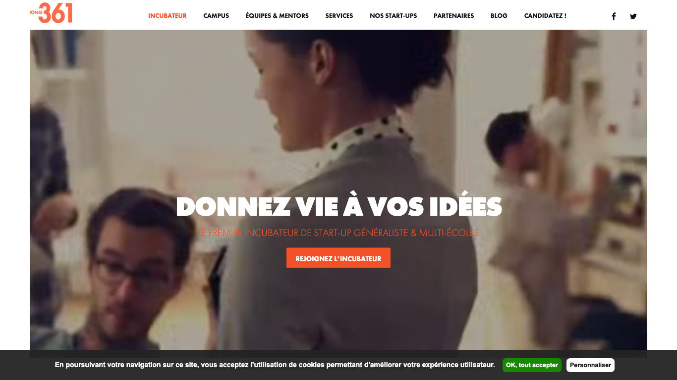 Incubateur de start-up Lille - IONIS 361