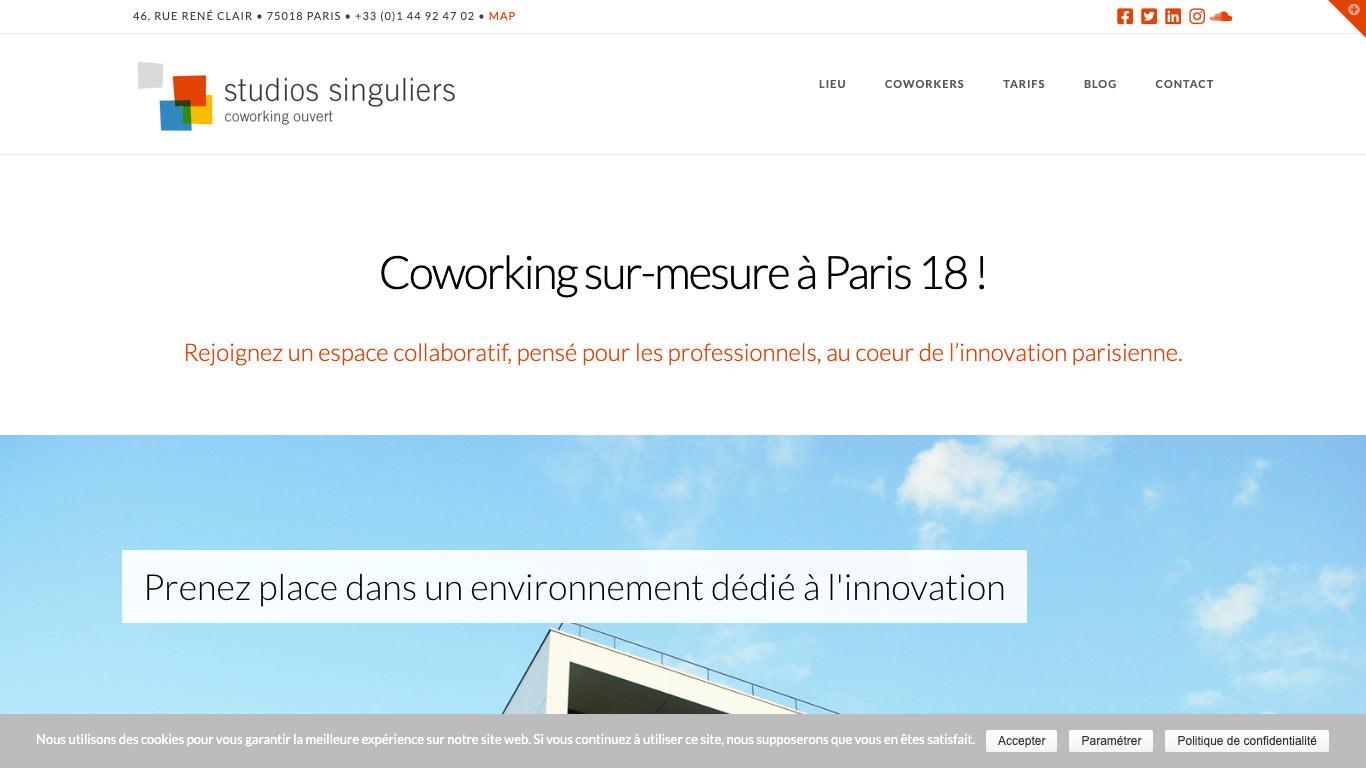 Coworking Paris Studios Singuliers