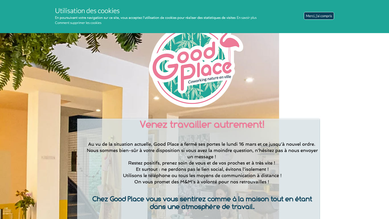 Good Place - coworking Rennes nature en ville