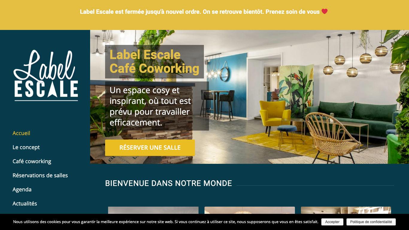LABEL ESCALE - Café Coworking Salles de réunion - Nantes