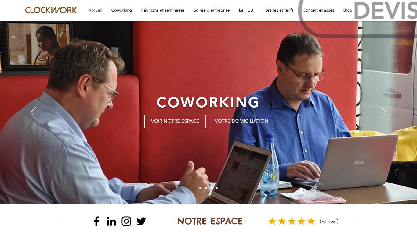 Clockwork - Coworking, Salles de réunion, Afterwork
