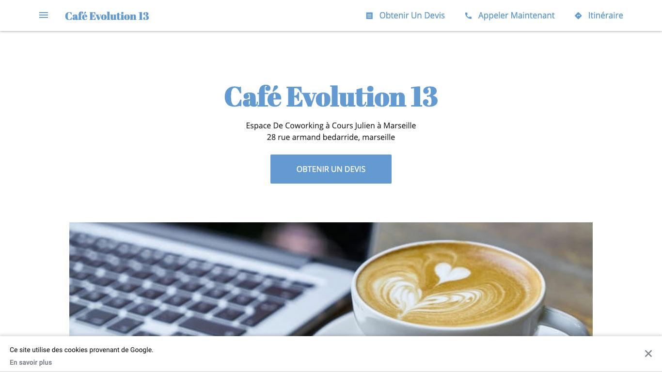 Café Evolution 13