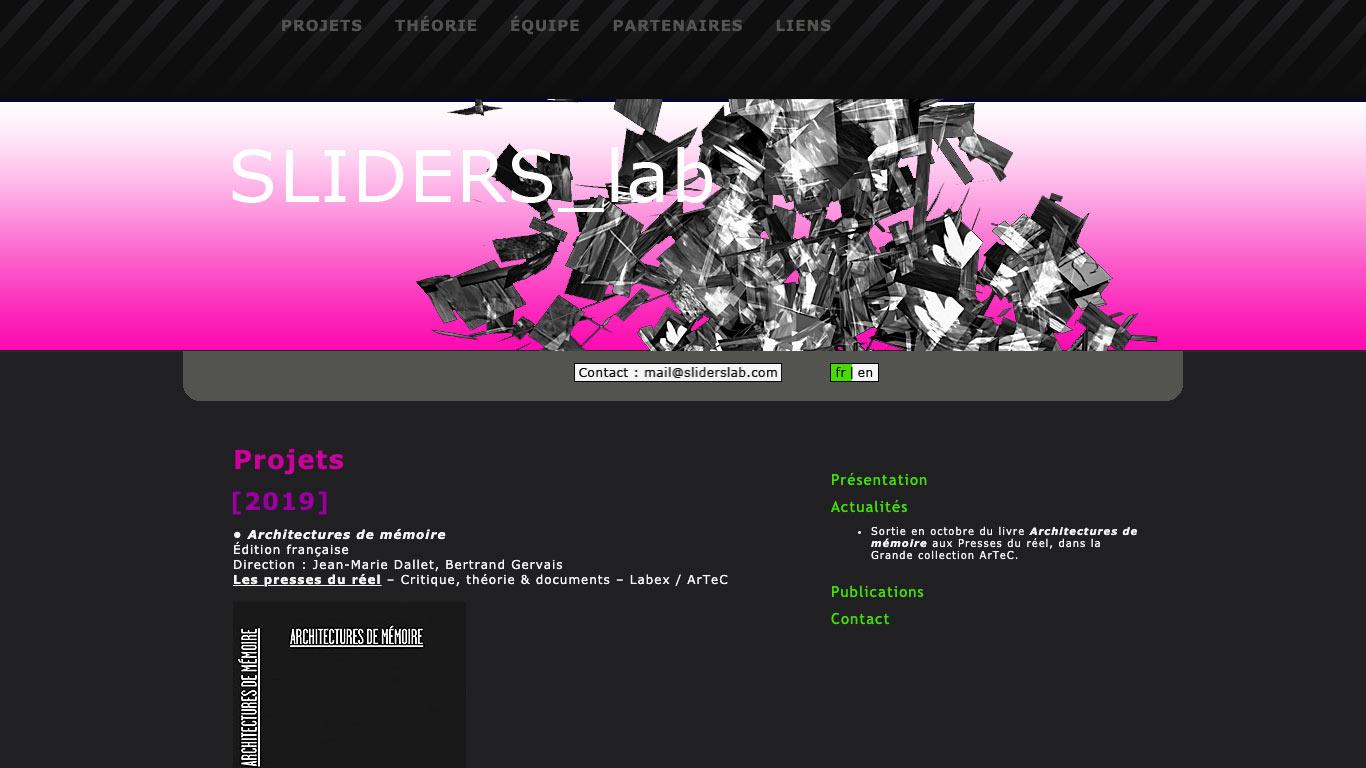 SLIDERS_lab