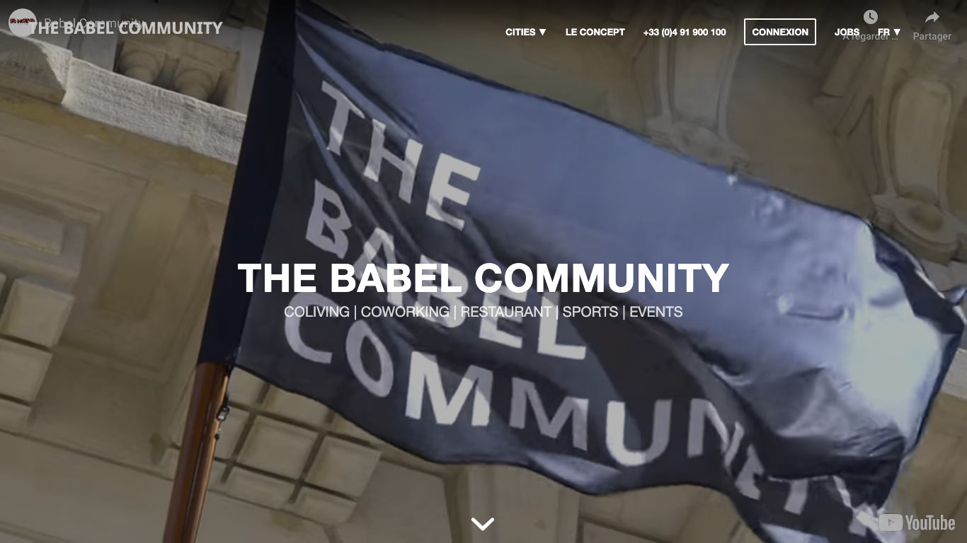 The Babel Community Marseille Coworking