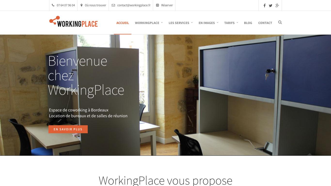 Working place - espace de coworking