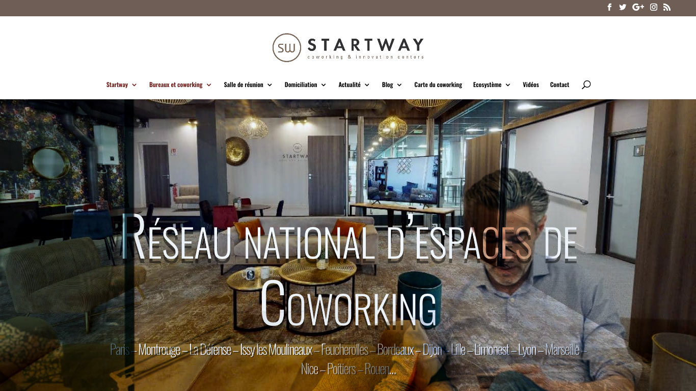 Start-Way - Espace Coworking - Paris - Auteuil