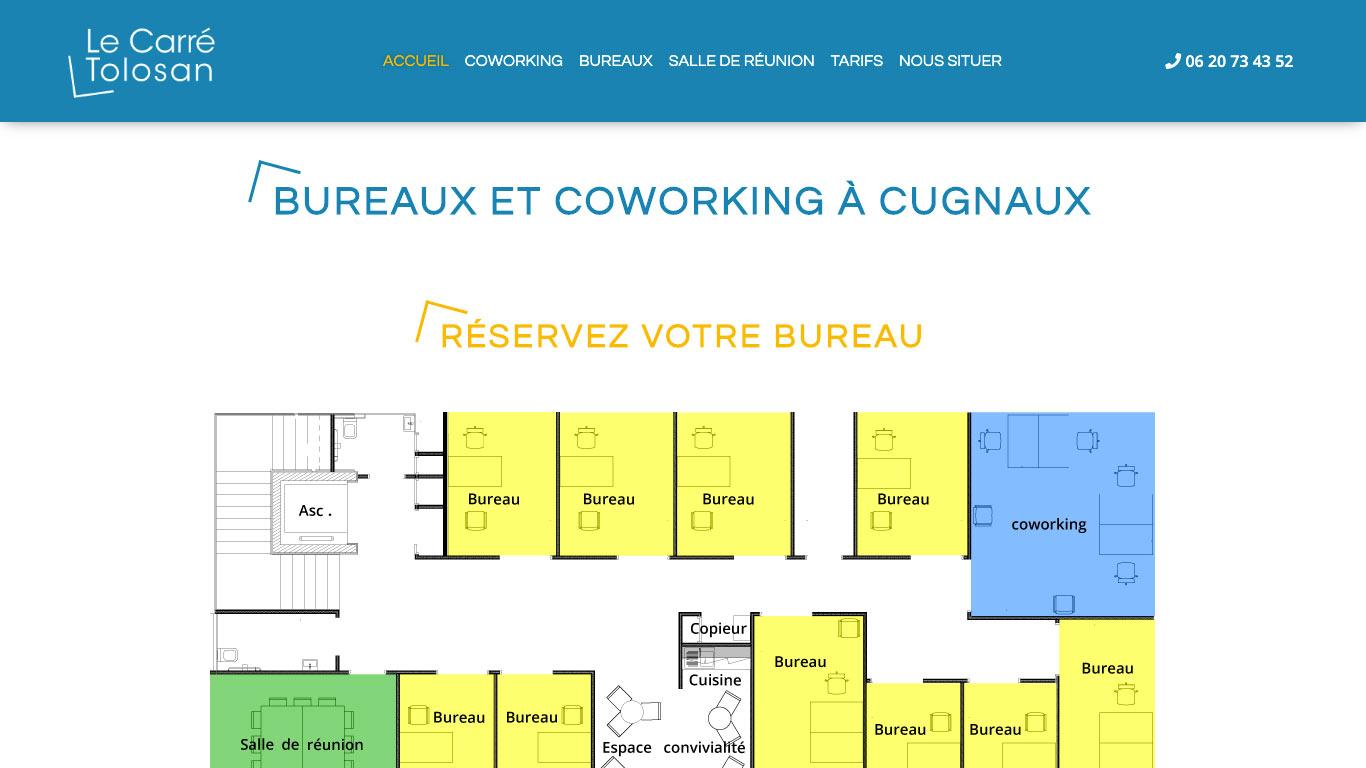 Coworking Carré Tolosan