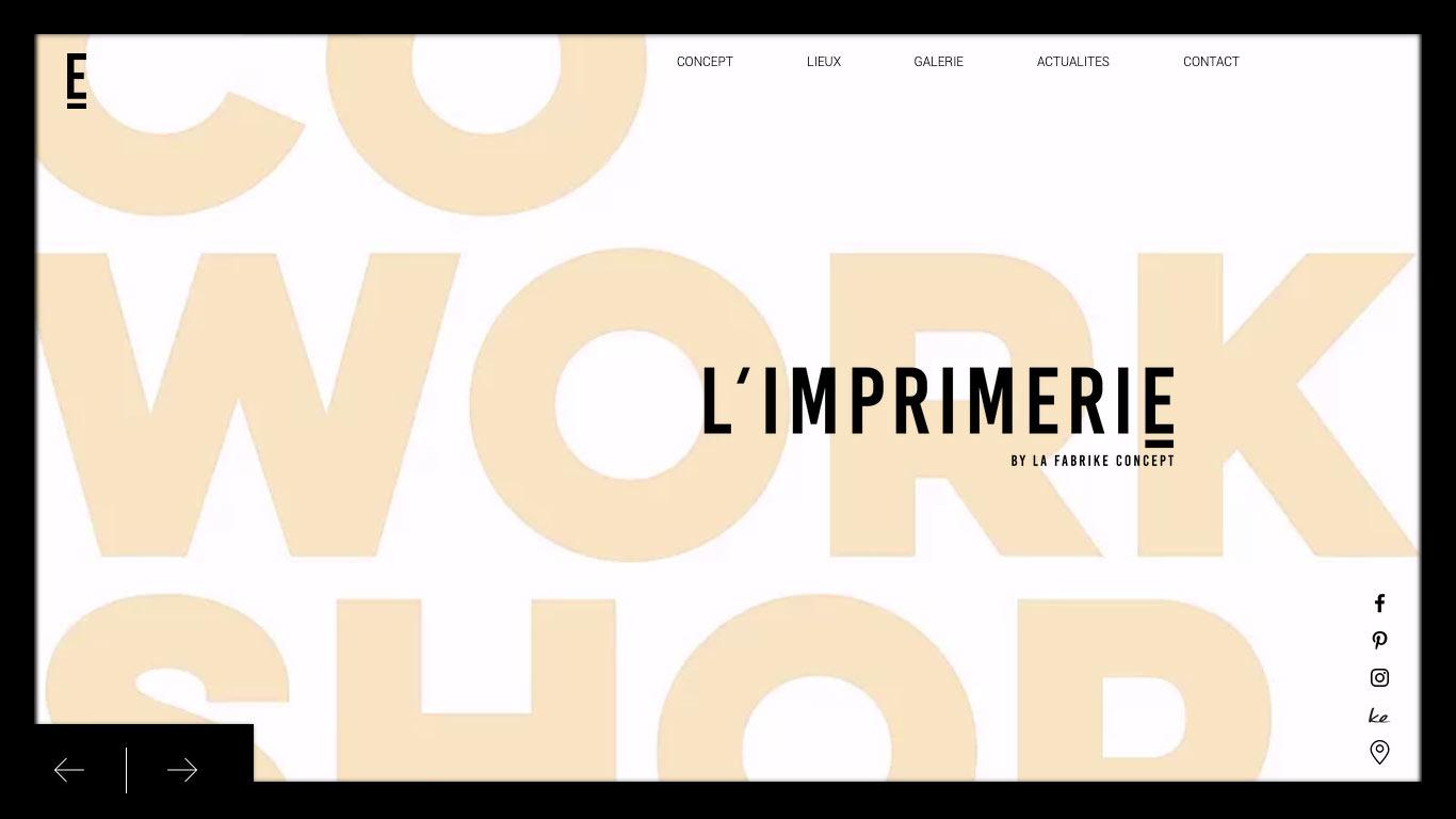 L'IMPRIMERIE | CO-WORK-SHOP