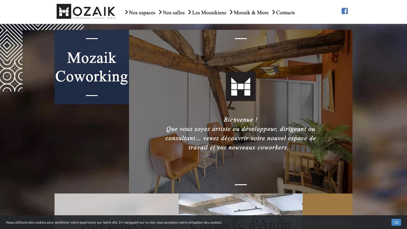 MOZAIK Coworking Spaces Chaussée d'Antin