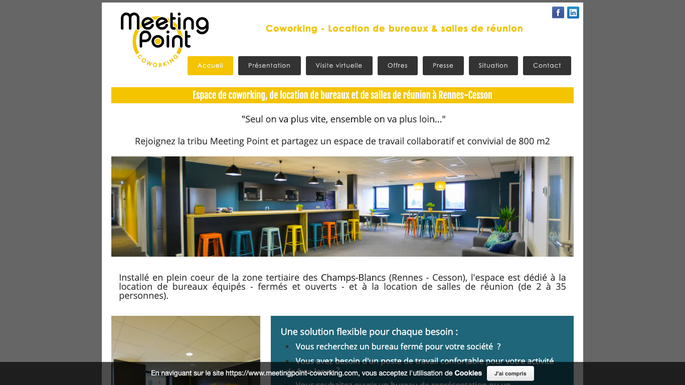 Meeting Point Coworking Rennes - Cesson