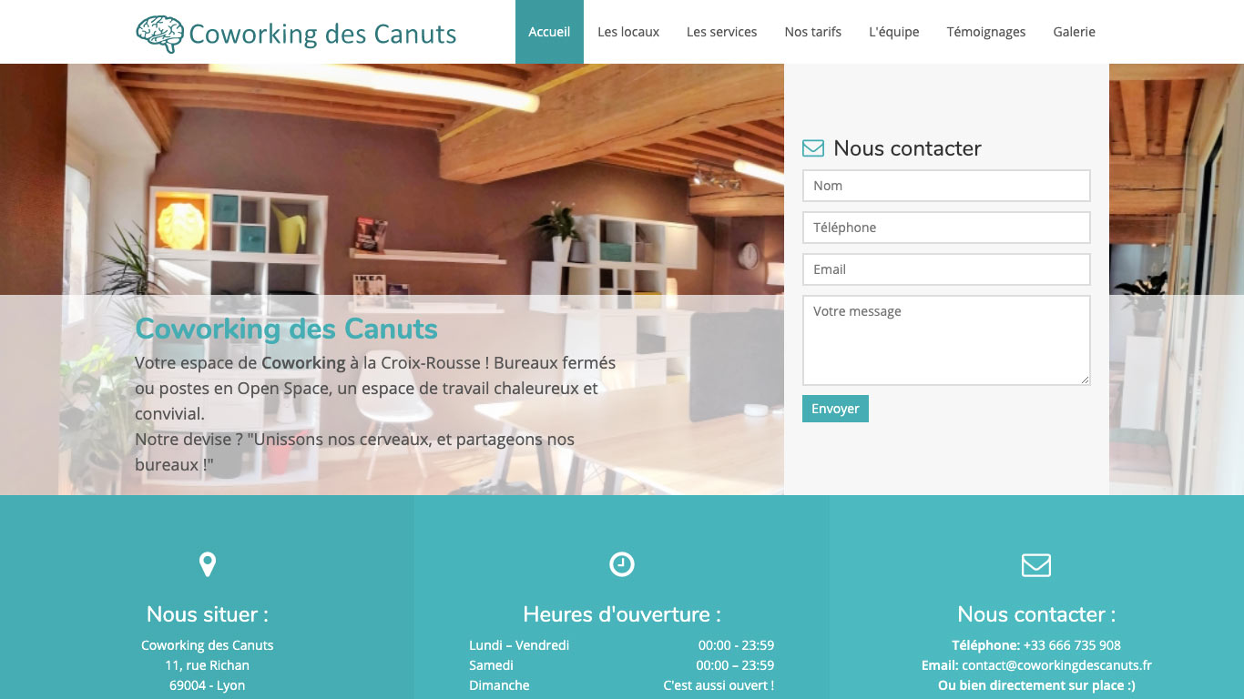 Coworking des Canuts