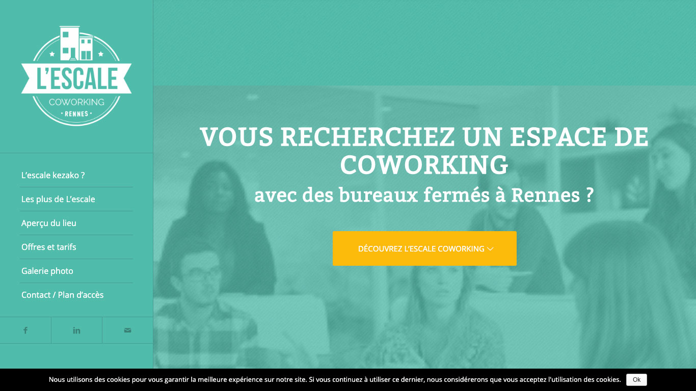L'escale coworking Rennes