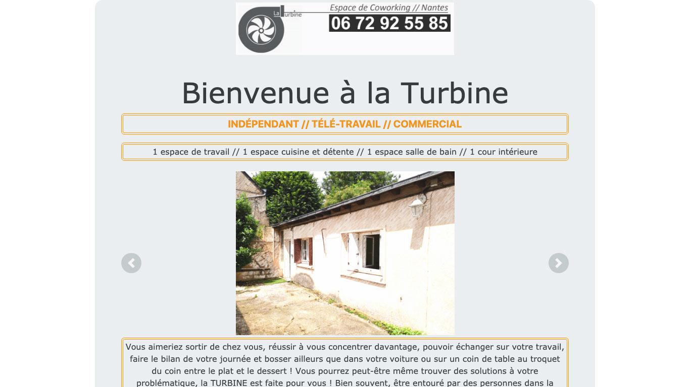 La Turbine co-working Nantes