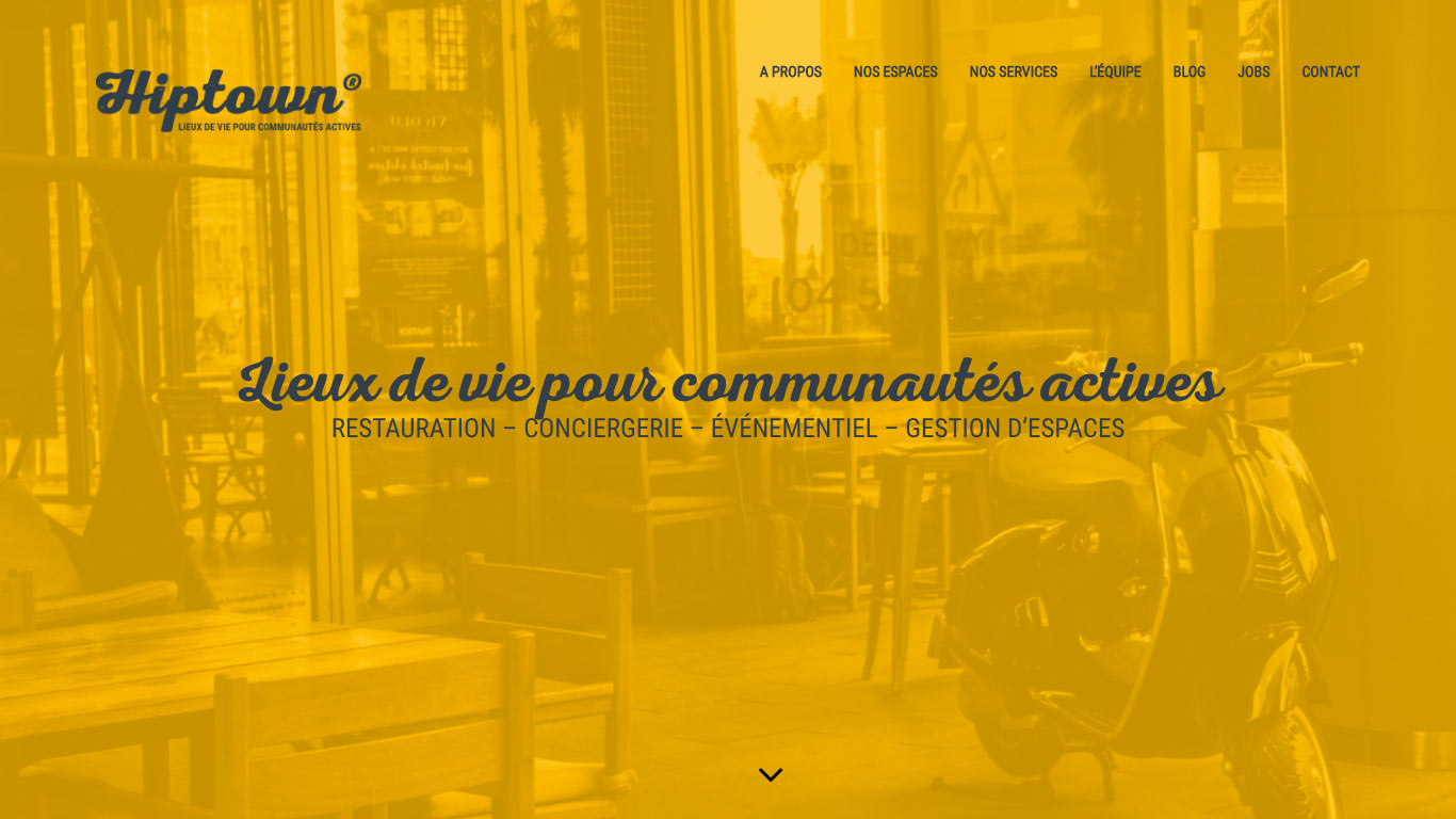 Hiptown - Espace de coworking - République