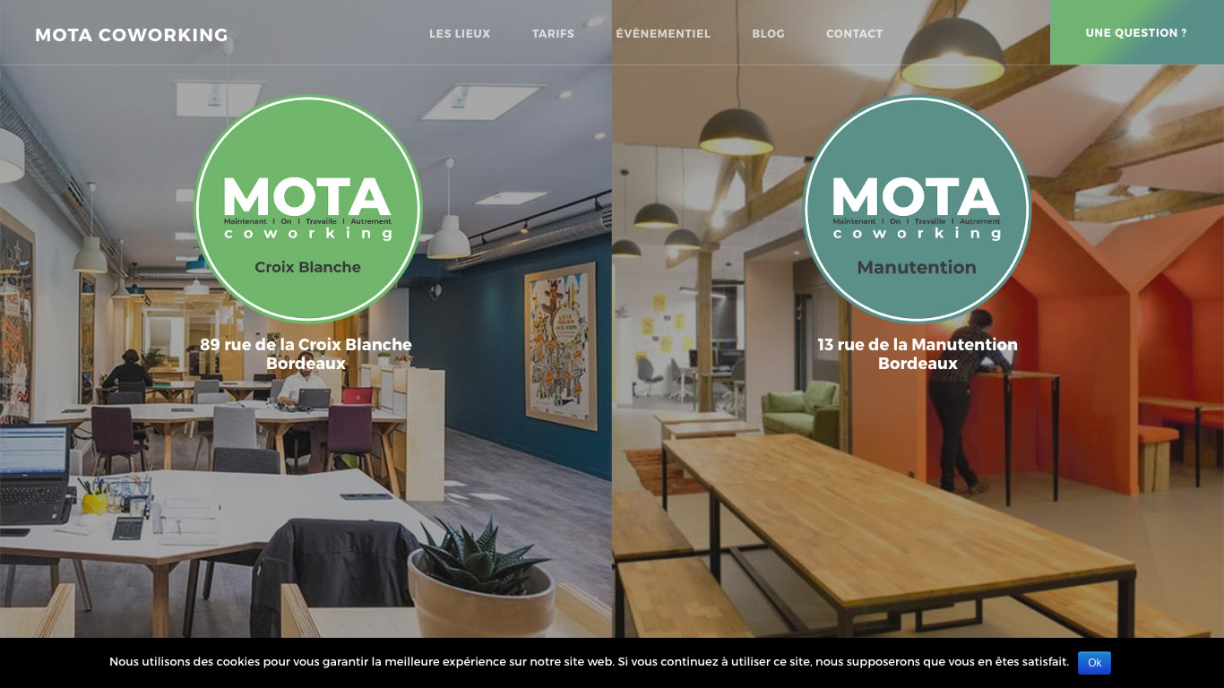 MOTA COWORKING - Manutention