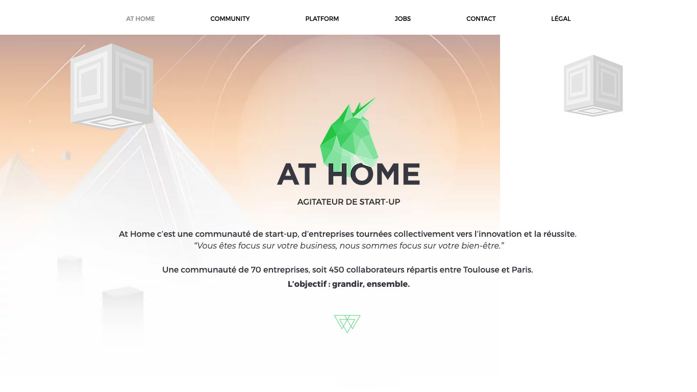 At Home - Campus start-up
