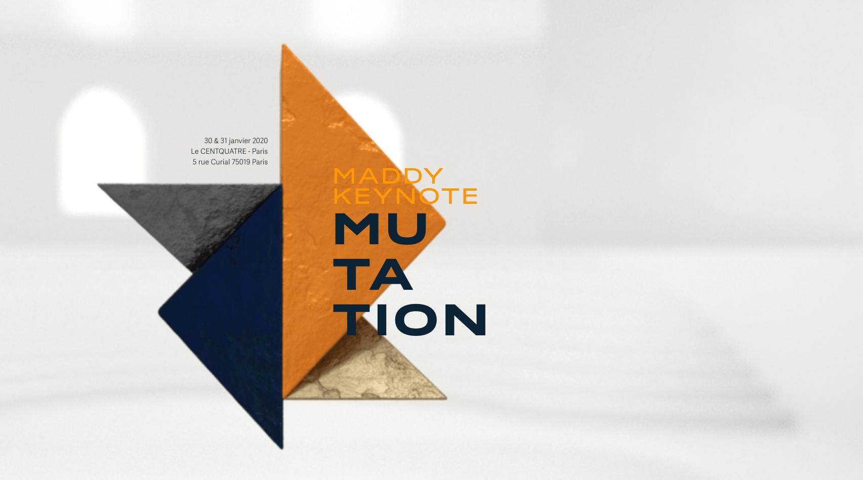 20 places à gagner pour la 5ème édition de la Maddy Keynote!