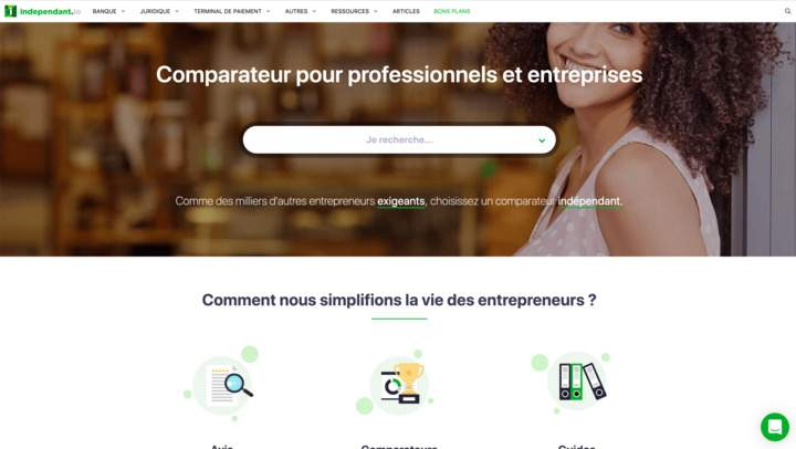 Le comparateur indépendant d'outils pour freelances : independant.io