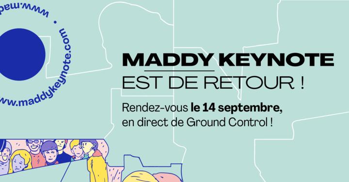 Freebe, partenaire de la 6ème édition de la Maddy Keynote
