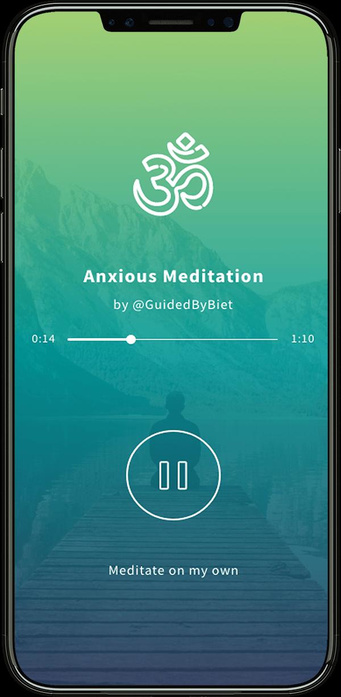 shift-app-iphone-pro-meditation-screen