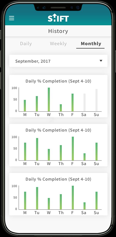 shift-app-iphone-pro-history-screen